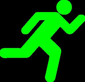 297x285 Green Stickman Clip Art