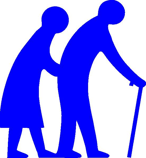 552x598 Nobby Senior Citizen Clipart Stickman Citizens Illustration
