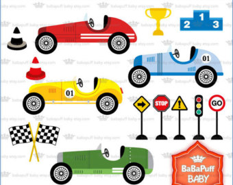 Stock Car Clipart