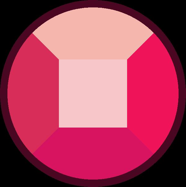 600x604 Ruby Clipart ruby stone
