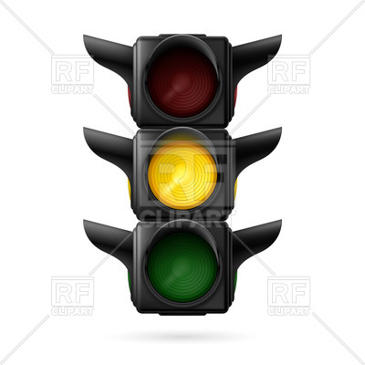 400x400 Realistic Traffic Light