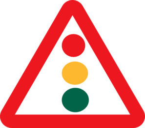 297x264 Traffic Light Clipart Train Signal