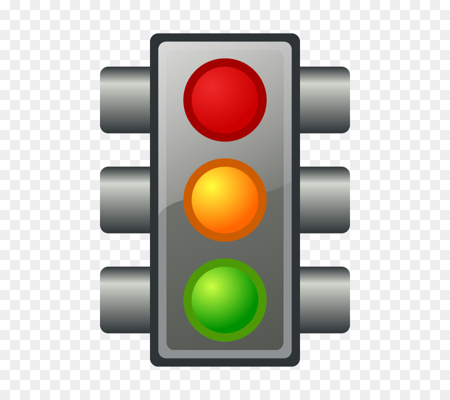 900x800 Traffic Light Red Stop Sign Clip Art