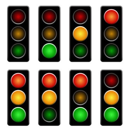 456x456 Free Traffic Lights 01 Clipart And Vector Graphics