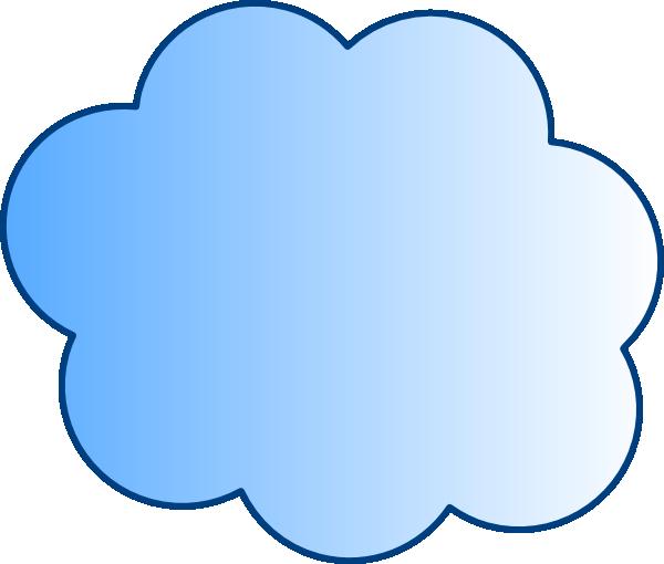 600x510 Cloud Clip Art 4