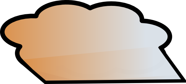 600x271 Dust Cloud 2 Clip Art