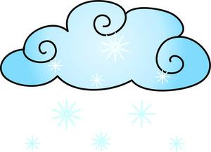 300x217 Snow Cloud Clipart Clip Art
