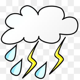 260x260 Weather Storm Cloud Clip Art