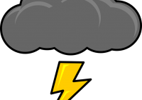200x140 Storm Cloud Clipart Thundercloud Cloud Storm Free Vector Graphic