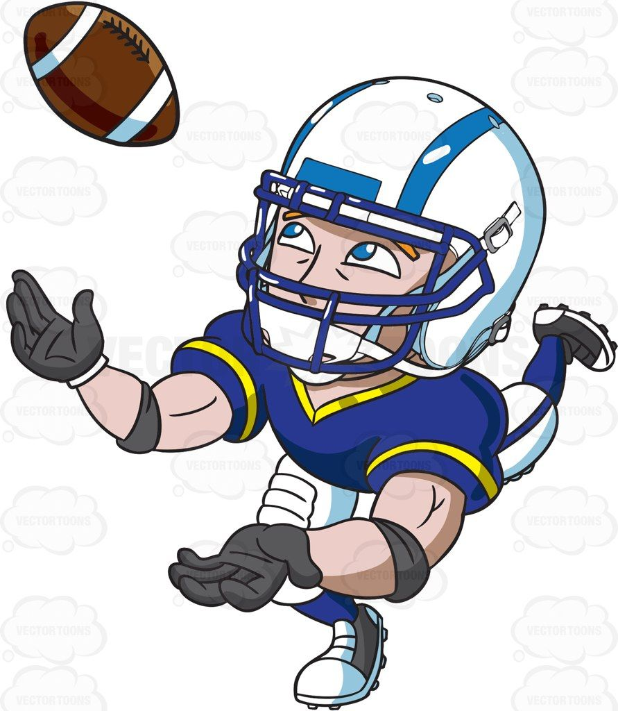 891x1024 A Football Wide Receiver Catching The Ball Wide Receiver
