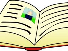 220x165 Story Book Clipart
