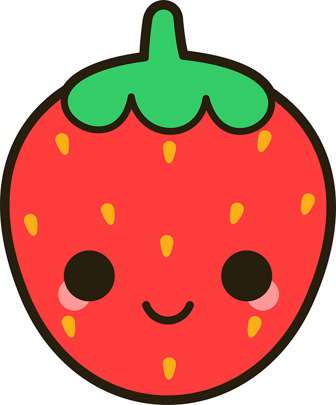 664x800 Strawberry Clipart Cute Strawberry Clipart 3 Clipart Station Clip