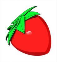 183x200 Free Strawberries Clipart