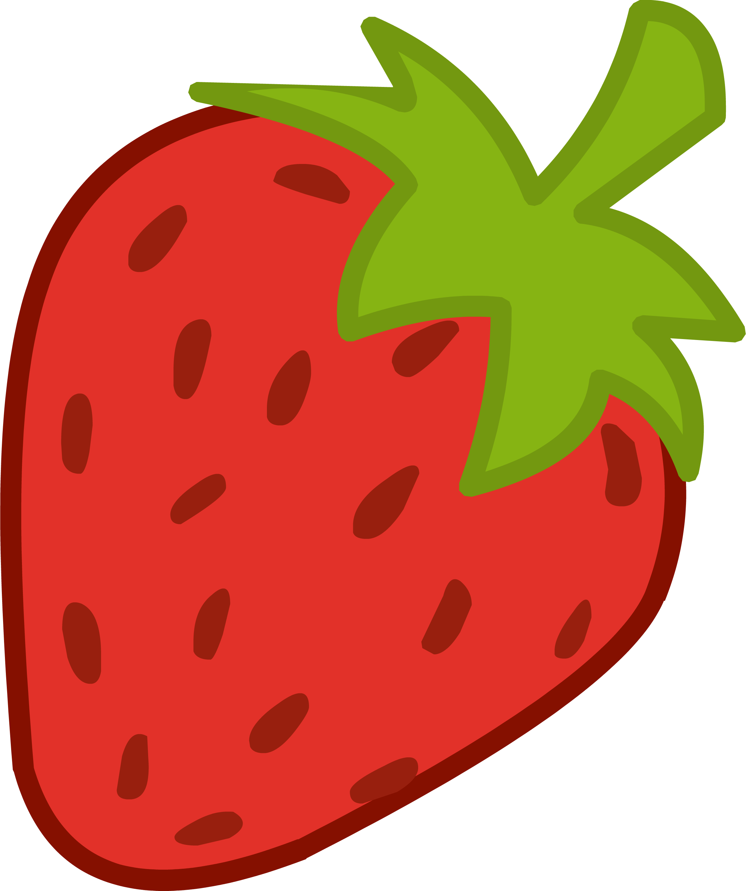 2412x2880 Strawberry Shortcake Clipart Free Clip Art Images.png