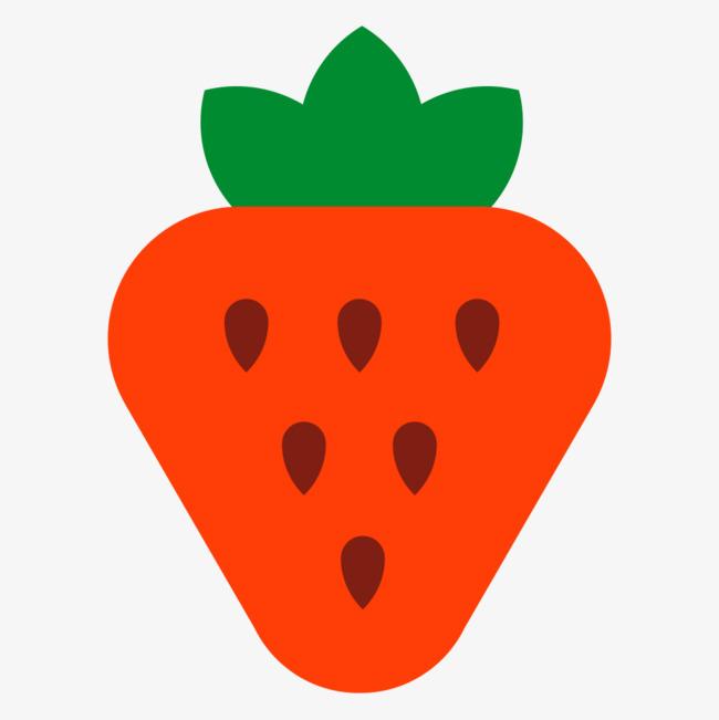 650x651 Cartoon Strawberries, Strawberry, Cartoon, Fruit Png Image