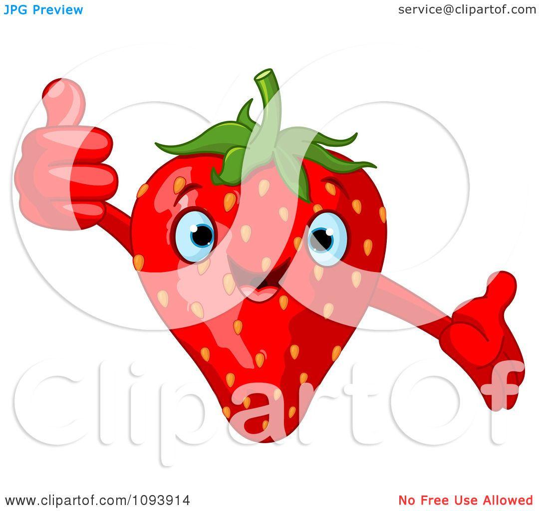 1080x1024 Clip Art Cartoon Strawberry Clipart Unbelievable Cliparts