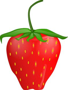 236x312 Free Clip Art Of A Sweet Red Strawberry Sweet Clip Art