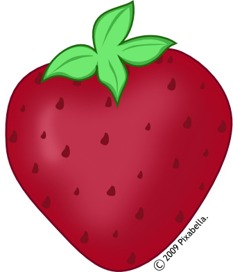 336x393 Red Clipart Strawberry