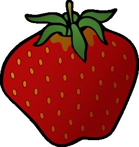 282x299 Strawberry 4 Clip Art