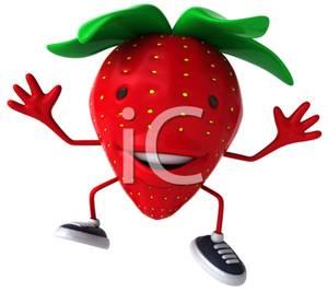 300x267 Strawberry Clip Art