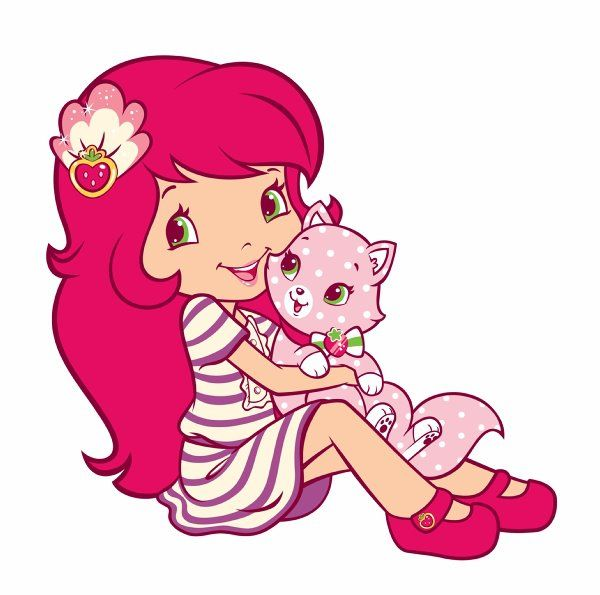 Strawberry Shortcake And Friends Clipart