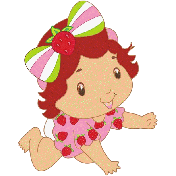 600x600 Baby Clipart Strawberry Shortcake