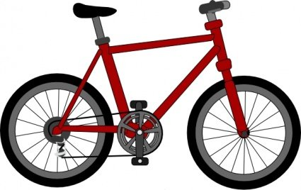 425x268 Free Bicycle Clipart And Vector Graphics
