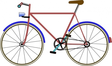 425x253 Free Download Of Bicycle Clip Art Vector Graphic