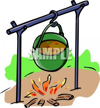 325x350 Pot Of Stew Cooking Over An Open Fire