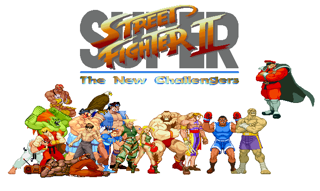 644x386 Street Fighter Ii Png Picture Png Mart
