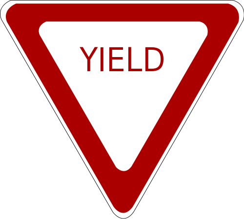 500x449 Free Road Sign Clipart Image