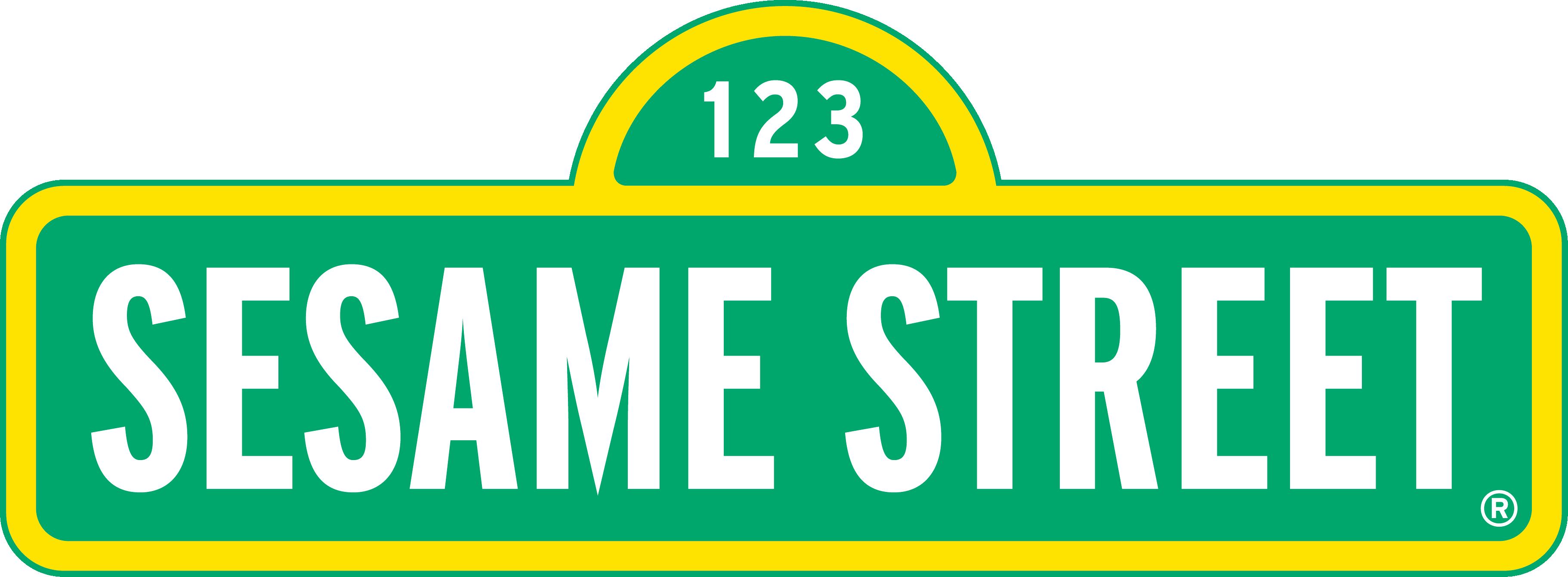 3644x1342 Sesame Street Clipart Street Sign