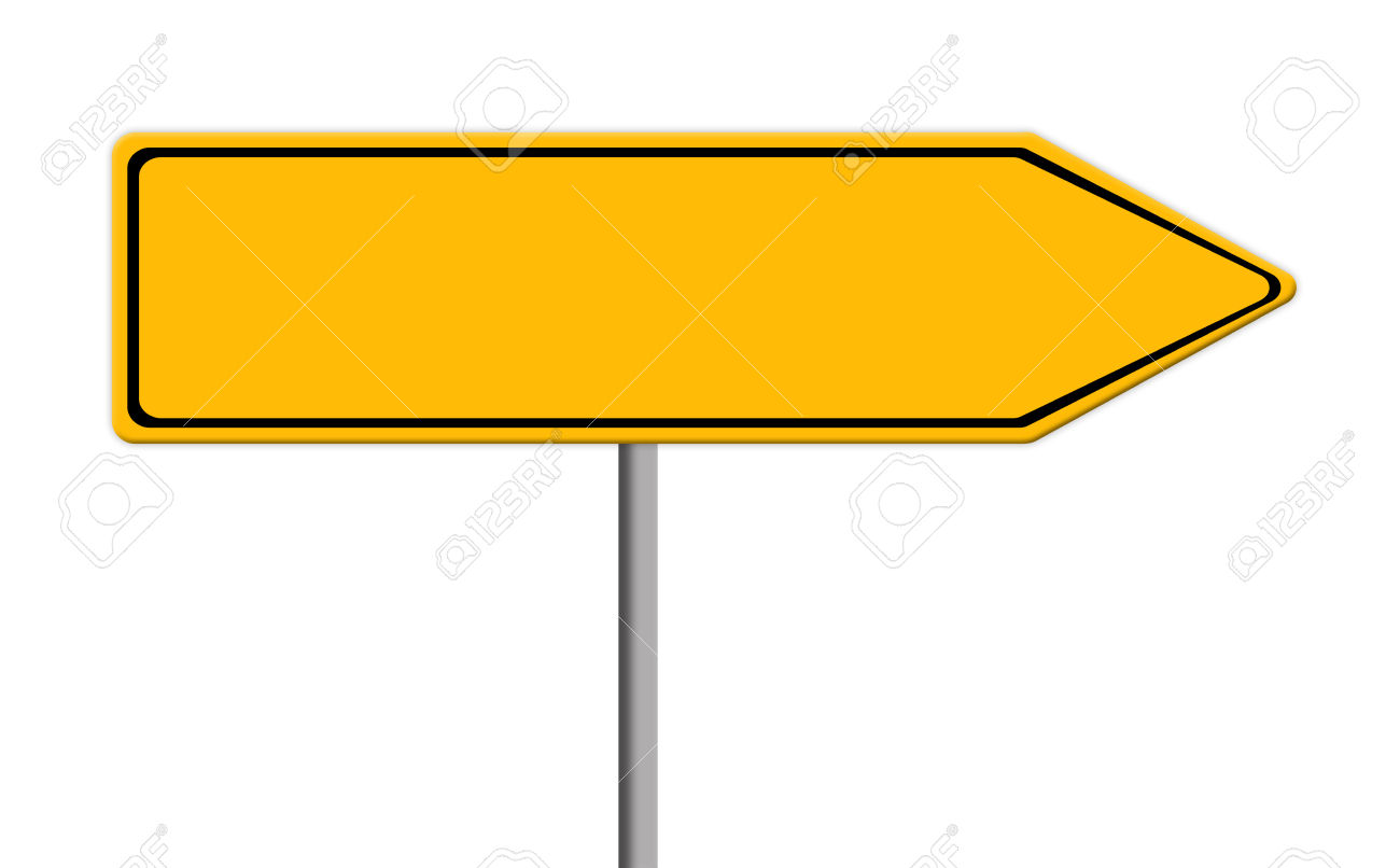 1300x806 Road Sign Direction Clipart