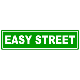 320x320 Blank Street Sign Template. Empty Street Signs Stock Photography