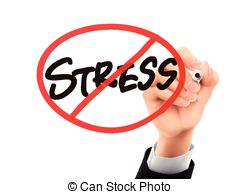 240x194 No Stress Words Written By Hand On A Transparent Board Clip Art