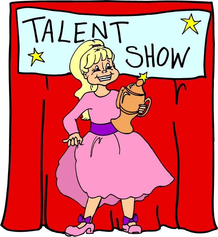 750x816 Clip Art Of Talent Show Clipart