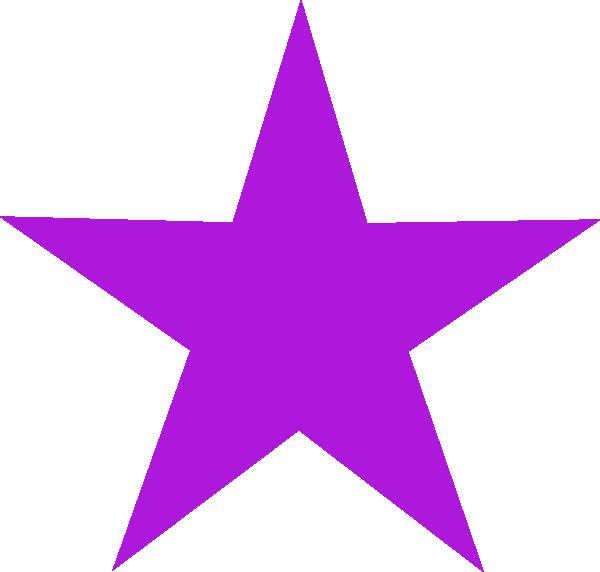 600x572 Purple Star Purple Star Clip Art
