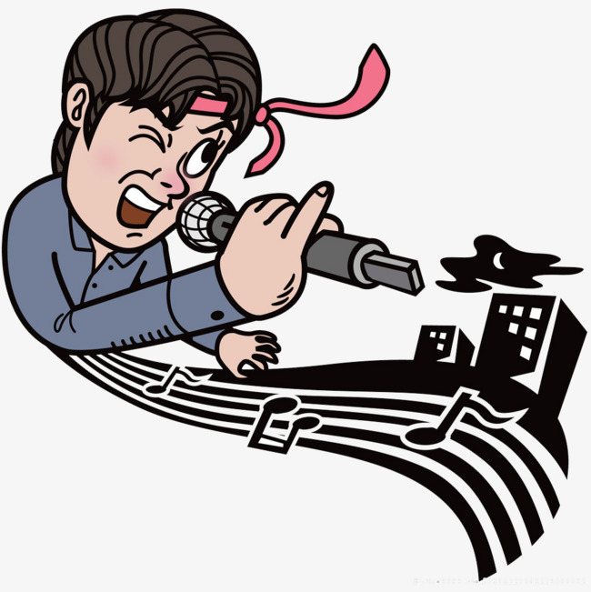 650x651 Release Stress, Sing A Song, Microphone, Note Png Image