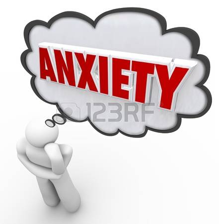 441x450 Fear Clipart Anxiety