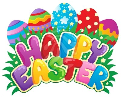 400x325 Happy Easter Clipart