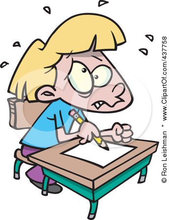 345x450 School Stress Clipart