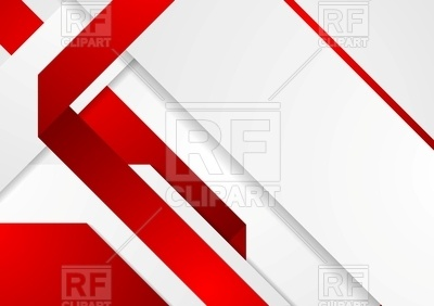 400x282 Corporate Background With Red And White Fold Stripes Royalty Free