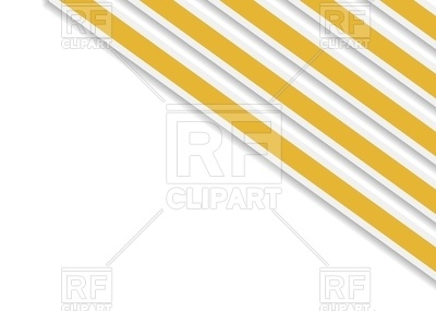 400x285 Abstract Orange Stripes In Corner Royalty Free Vector Clip Art