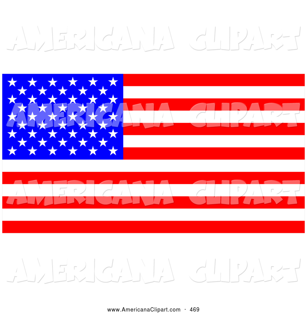 1024x1044 Americana Clip Art Of A Patriotic Bright American Flag With Stars