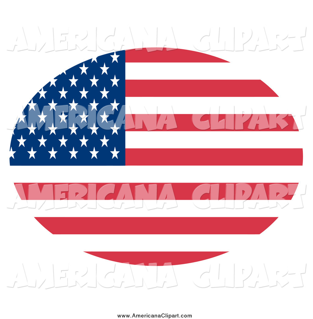 1024x1044 Americana Vector Clip Art Of An Oval American Flag With Stars