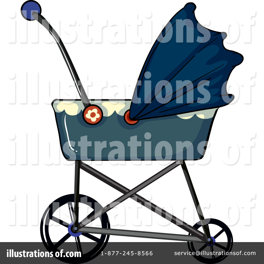 1024x1024 Baby Stroller Clipart