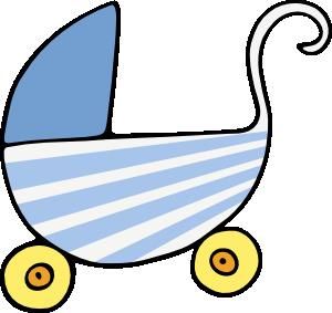 300x283 Baby Stroller Clip Art Free Vector 4vector