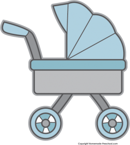 269x300 Baby Stroller Clipart Ba Shower Clipart Clip Art For Students