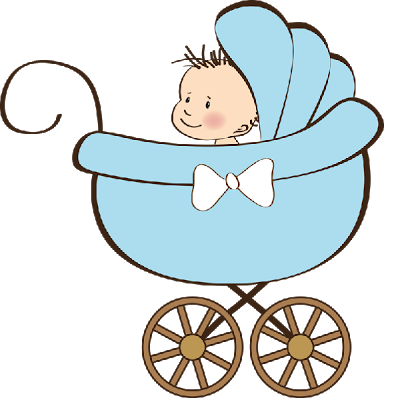 400x400 Baby Stroller Clipart Cartoon Ba Carriage Passionativeco Clip Art