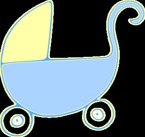 299x282 Baby Carriage Stroller Clip Art